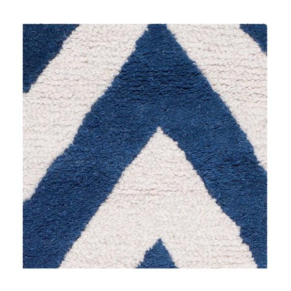 Vlněný koberec Stella Navy, 182x274 cm