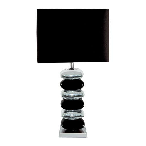 Stolní lampa Ceramica, černá