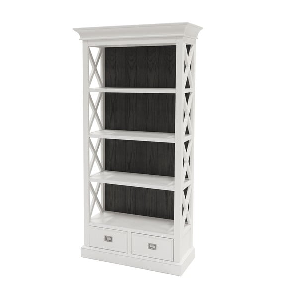 Bílá stěna Canett Skagen Cabinet, 2 zásuvky