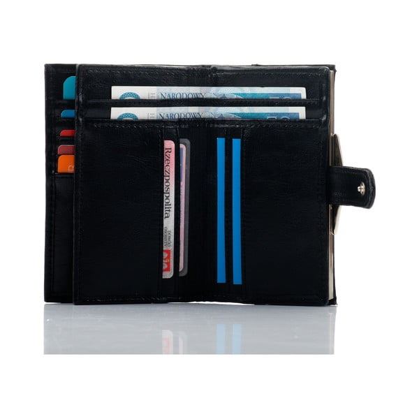 Kožená peněženka Felice P13 Black