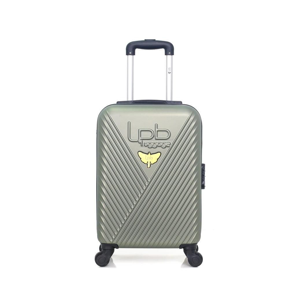 Zelené zavazadlo na 4 kolečkách LPB Francis, 31l