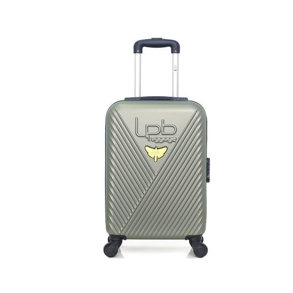 Zielona walizka z 4 kółkami LPB Francis, 31 l