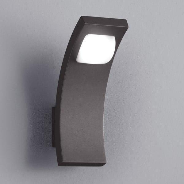 Venkovní nástěnné světlo Seine Antracit, 21 cm