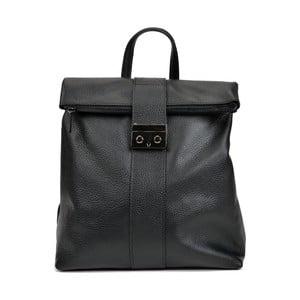 Černá kožená kabelka Isabella Rhea Riccardo