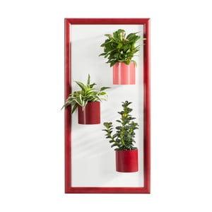 Magnetický obraz/podložka, červený, 23x50 cm
