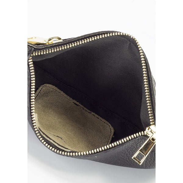 Béžová kožená kabelka Lisa Minardi Veronica
