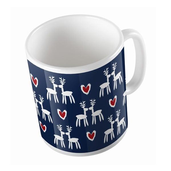 Keramický hrnek Deer Love, 330 ml