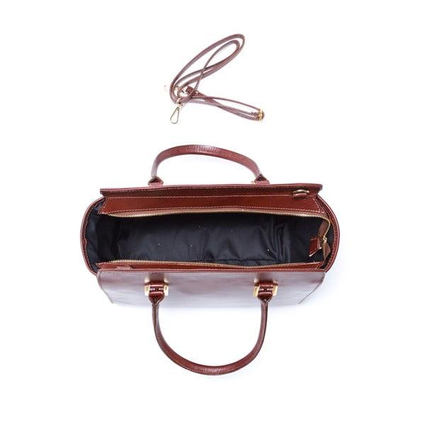 Kožená kabelka Isabella Rhea 3017 Marrone