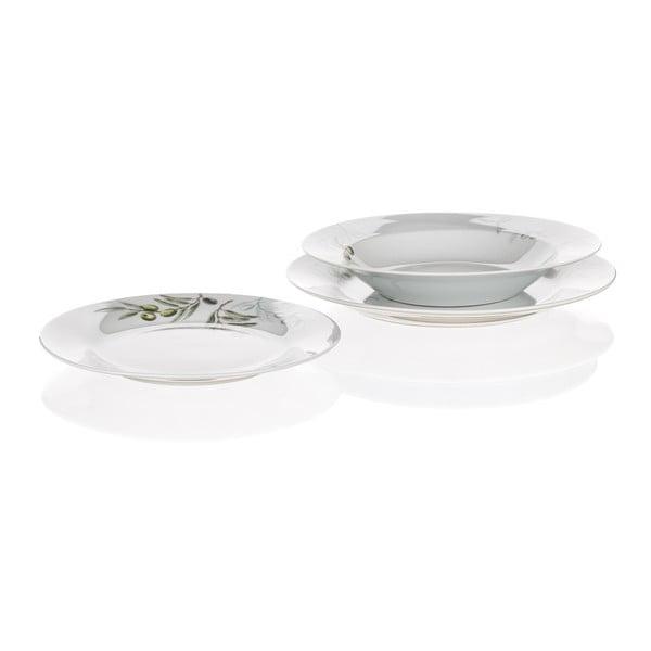 Sada talířů Banquet Olives, 18ks