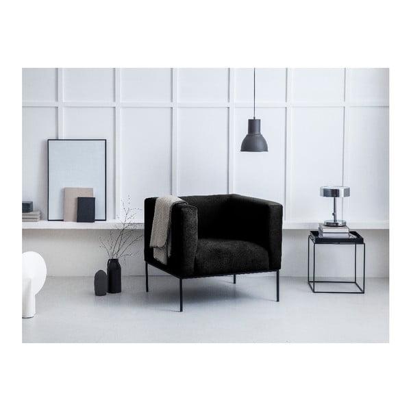 Černé křeslo Windsor & Co Sofas Neptune