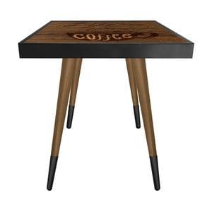 Příruční stolek Caresso Life Being After Coffee Square, 45 x 45 cm