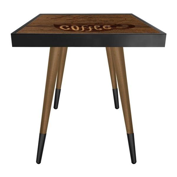 Príručný stolík Caresso Life Being After Coffee Square, 45 × 45 cm