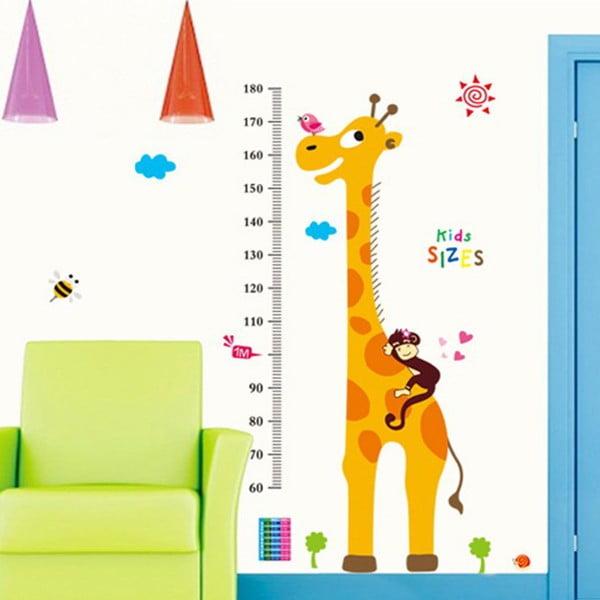 Dekorativní samolepka Meter Giraffe