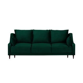 Canapea extensibilă cu 3 locuri Mazzini Sofas Freesia verde