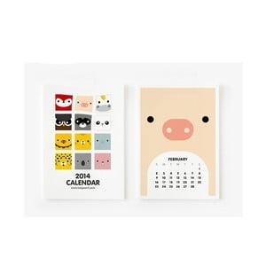 Kalendář na rok 2014 - Cute Animal