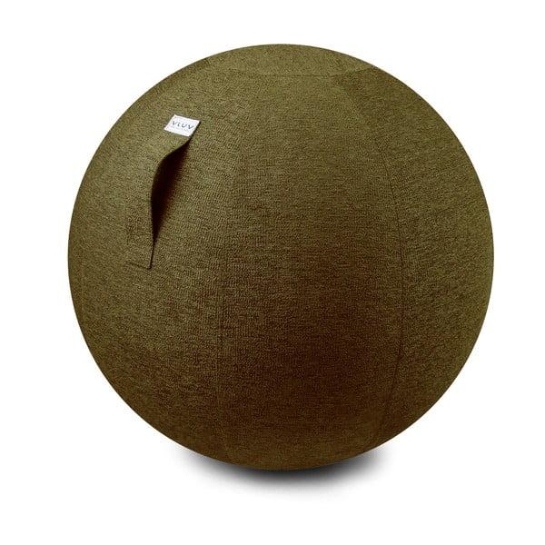 Sedací míč VLUV 75 cm, olivový