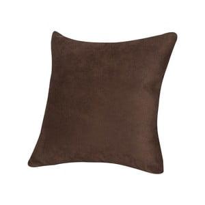 Polštář z mikrovláken Pillow 40x40 cm, čokoládový