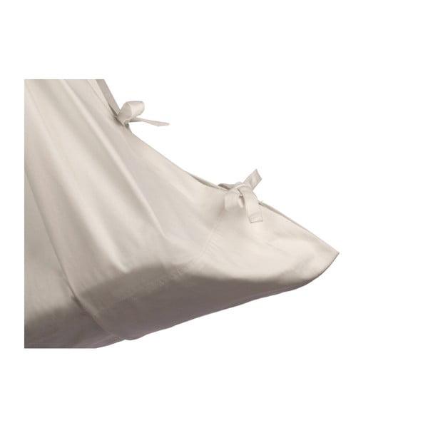 Malá krémová kolébka z bio bavlny se zavěšením do dveří Hojdavak Baby (0až9 měsíců)