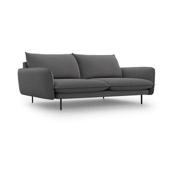 Canapea Cosmopolitan Design Vienna,lățime230 cm, gri închis imagine