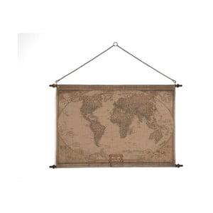 Nástěnná mapa světa SOB