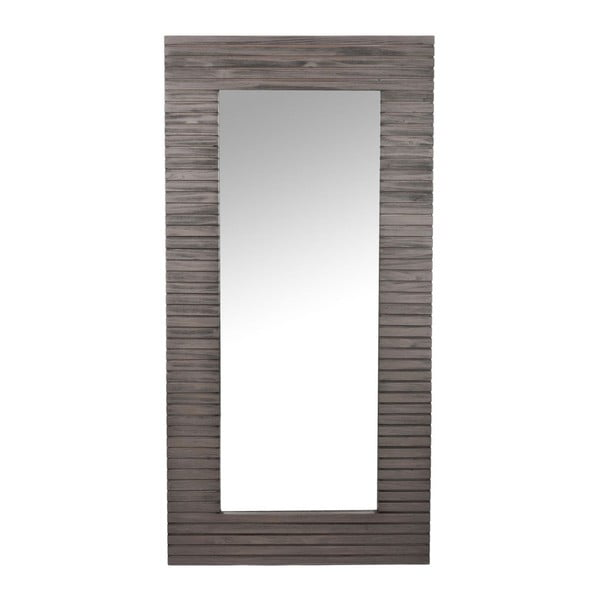 Zrcadlo Wood Brown, 60x3x120 cm