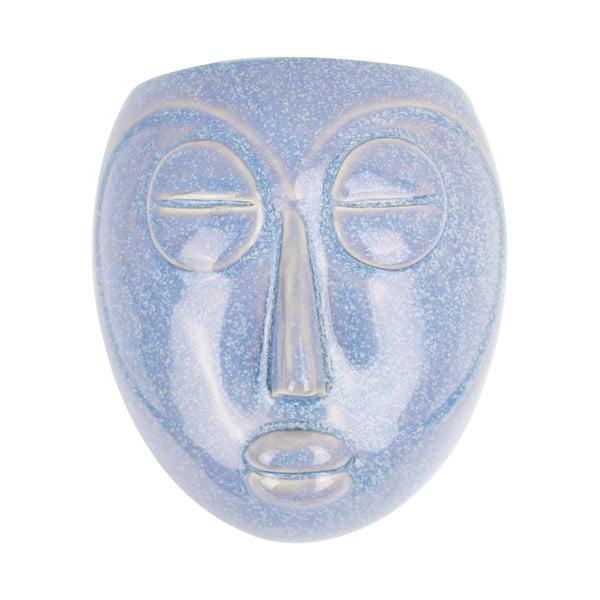 Mask kék fali virágtartó, 16,5 x 17,5 cm - PT LIVING