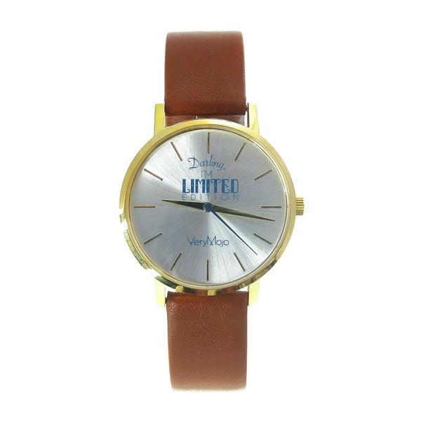 Hnědé hodinky VeryMojo Limited Edition