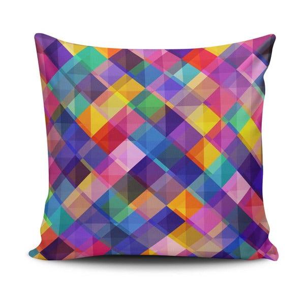 Povlak na polštář s příměsí bavlny Cushion Love Gyglo, 45 x 45 cm