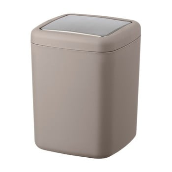Coș de gunoi Wenko Barcelona S, înălțime 20 cm, maro-gri imagine