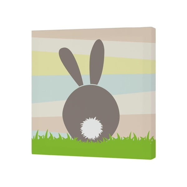 Obraz Little W Little Rabbit, 27 x 27 cm