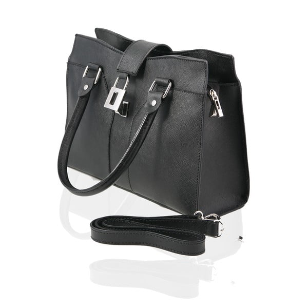 Kožená kabelka Marlene, black