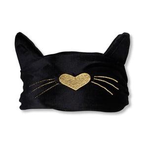 Černá maska na spaní Tri-Coastal Design Cat