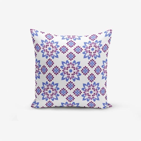 Față de pernă cu amestec din bumbac Minimalist Cushion Covers Special Design Flower Modern, 45 x 45 cm