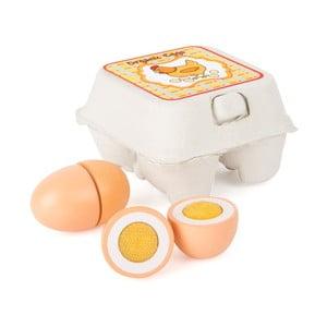 Dřevěná vajíčka na hraní Legler Eggs