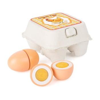 Ouă din lemn pentru copii Legler Eggs de la Legler