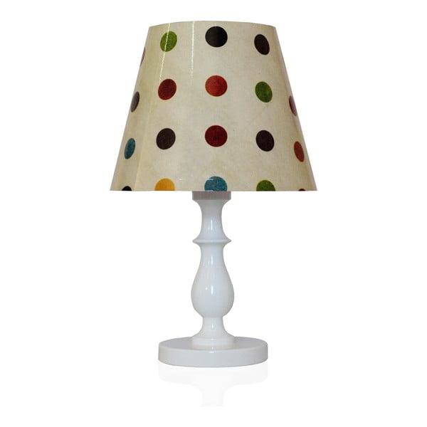 Stolní lampa Hravé puntíky