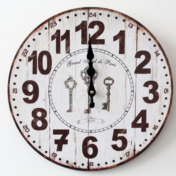 Vintage hodiny Grand Hotel de Paris