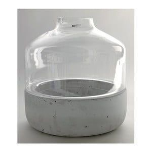 Váza Glass Stone, 29x31 cm