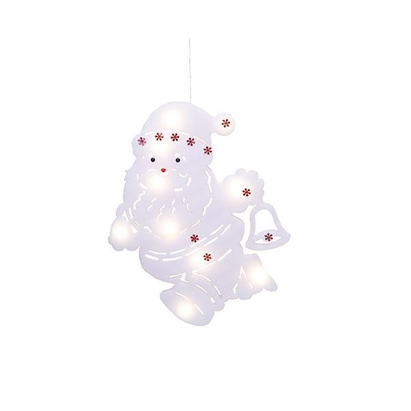 Svítící dekorace Santa Silhouette