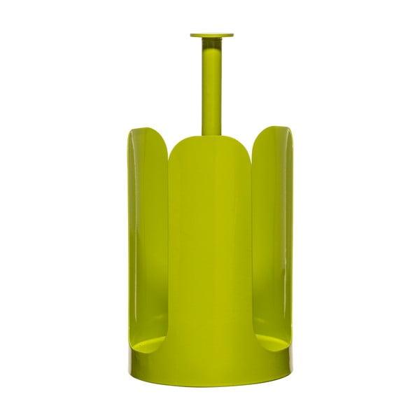 Stojan na role papírových utěrek  Sagaform, zelený