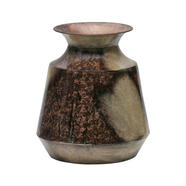 Váza újrahasznosított fémből, ø25cm - BePureHome