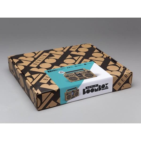 Kartonové reproduktory Berlin Boombox, brown