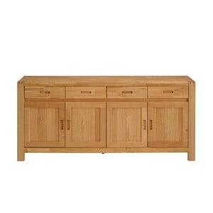 Dřevěná komoda se 4 šuplíky Artemob Ethan