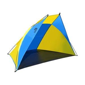 Žluto-modrý plážový stan Cattara Split