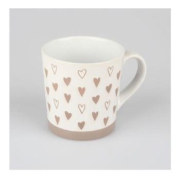 Cană din ceramică decorată manual Dakls Heart, 473 ml