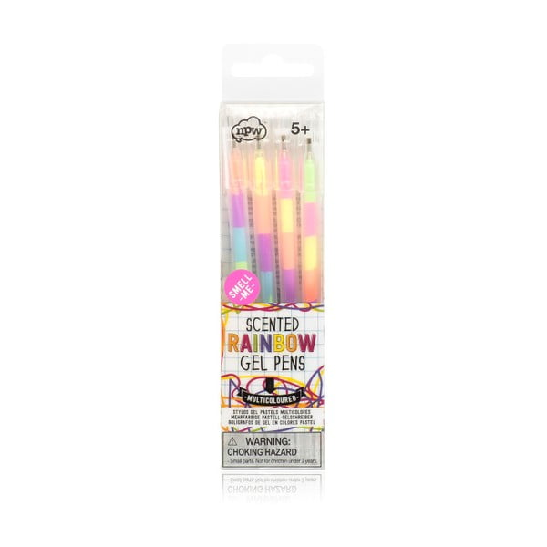 Sada 4 gélových pier npw™ Multi Colour Patel Gel Pen