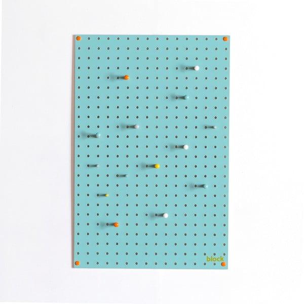 Multifunkční nástěnka Pegboard 40x61 cm, modrá