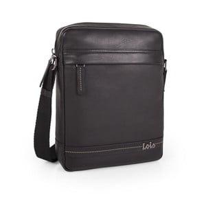 Kožená pánská taška na iPad LOIS no. 726, černá