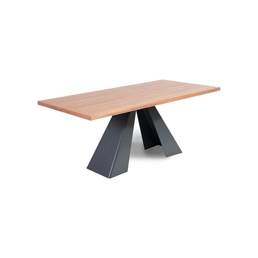 Jídelní stůl s deskou z dubového dřeva Charlie Pommier Visionnaire, 200 x 100 cm