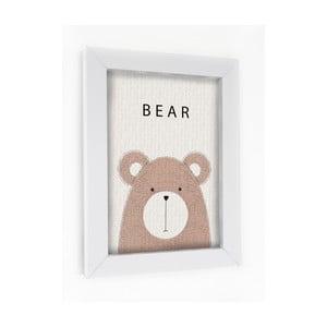 Obraz v rámu Bear